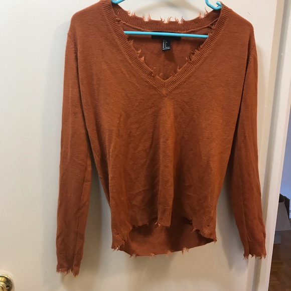 Sweaters - Fringe fall sweater